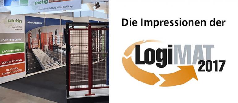 Die Impressionen von der LogiMAT 2017